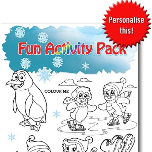 SKATING FUN ACTIVITY Pack - Pack of 100 - MP2808