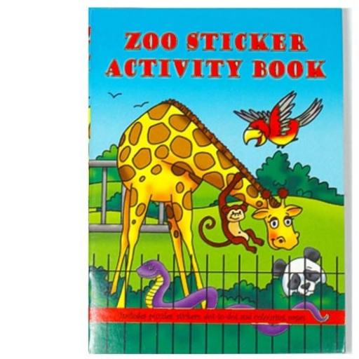 Zoo Sticker Activity Book - Pack of 100