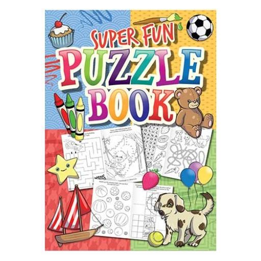 Super Fun Puzzle Book - 16pp - Pack of 48