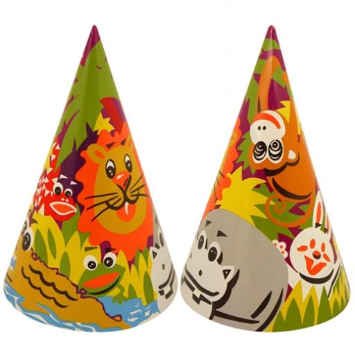 Cone Hat - Happy Animals - Pack of 144
