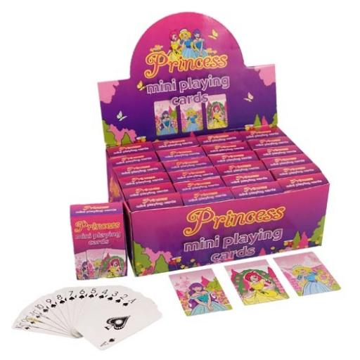 Princess Mini Playing Cards - Pack of 24
