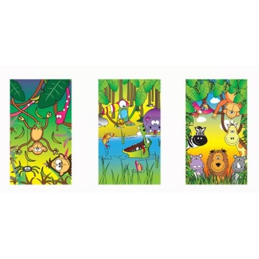 Jungle Mini Notepad - Pack of 168