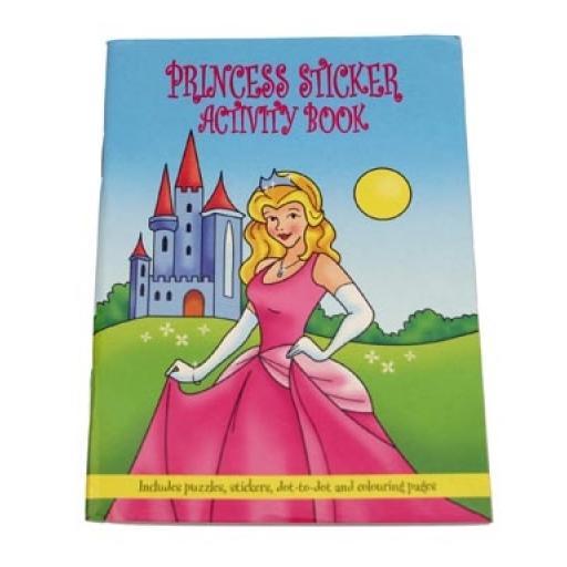 Princess Sticker Activity Book - Pack of 100
