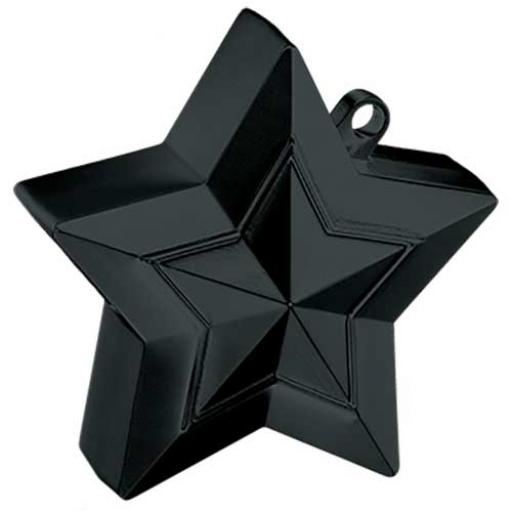 Star Balloon Weight Black