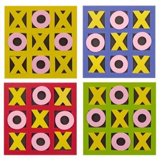 Noughts & Crosses - Pack of 30