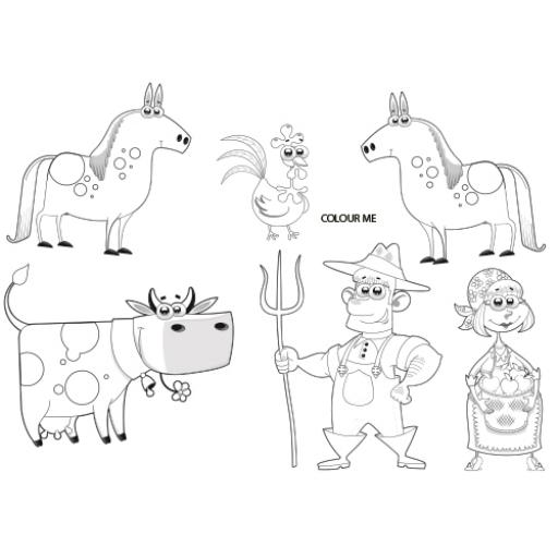FARM ACTIVITY PLACE MAT - A4 - Pack of 500