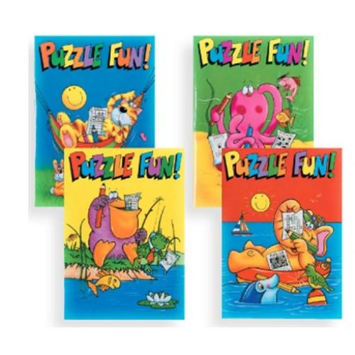 Puzzle Fun Book 16pp - Pack of 100