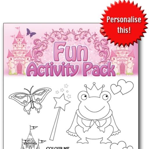 PRINCESS FUN ACTIVITY Pack - Pack of 100 - MP2744