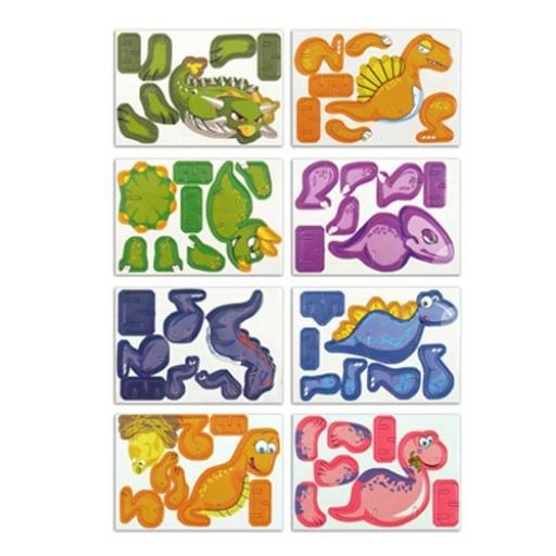 Dinosaur 3D Puzzle - Pack of 144
