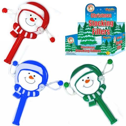 Christmas Hand Drum - Pack of 48