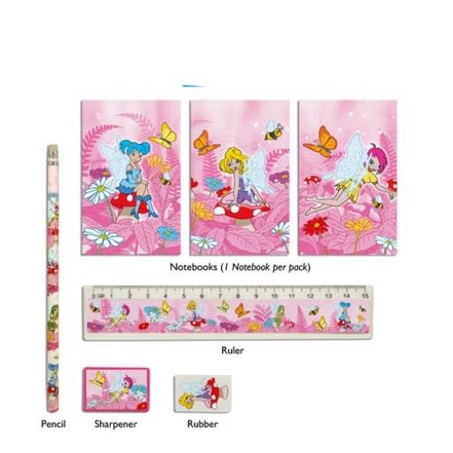 Fairy 5 Piece Stationery Set - Pack of 24