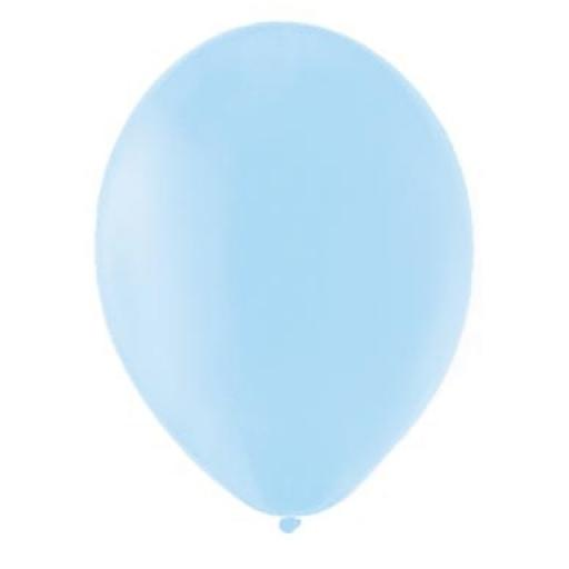 Latex Balloons - Sky Blue - Pack of 100