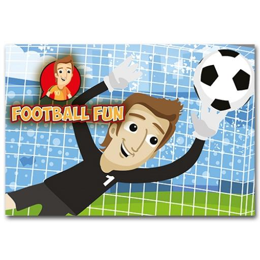 FOOTBALL FUN WALLET - Pack of 500 - MP3446
