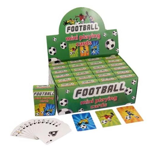 Football Mini Playing Cards - Pack of 24