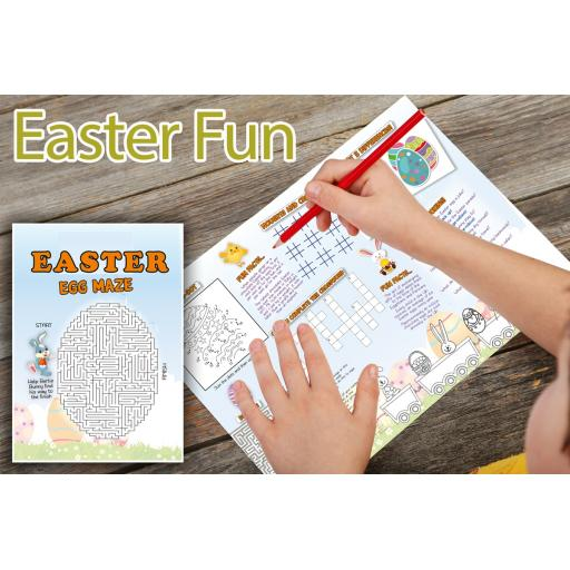 Easter Themed A3 Activity - Pack of 250