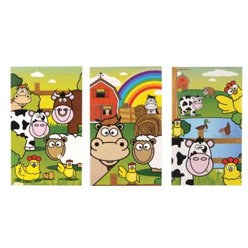 Farm Mini Notepad - Pack of 168