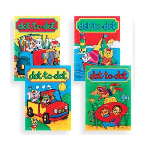 Dot To Dot Book - 16pp - Pack of 100