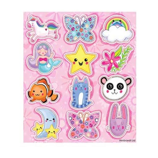 Cute Stickers - Pack of 120