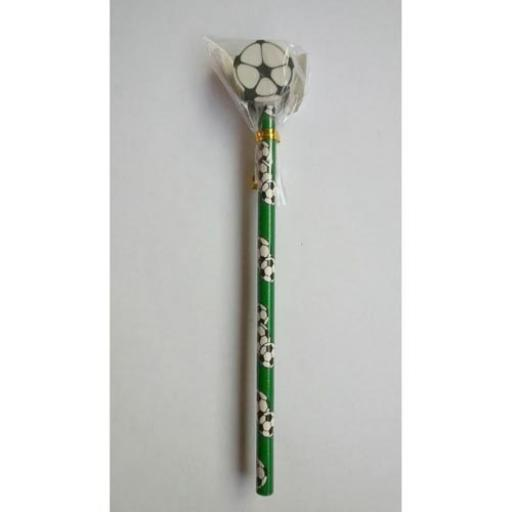 Football Pencil with Eraser - Pack of 24
