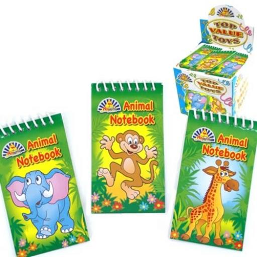 Zoo Animals Notepad - Pack of 120