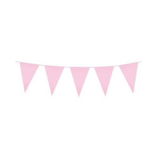 Light Pink Flag Banner