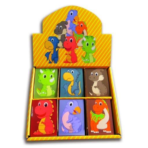 Dinosaur Memo Pad - Pack of 48