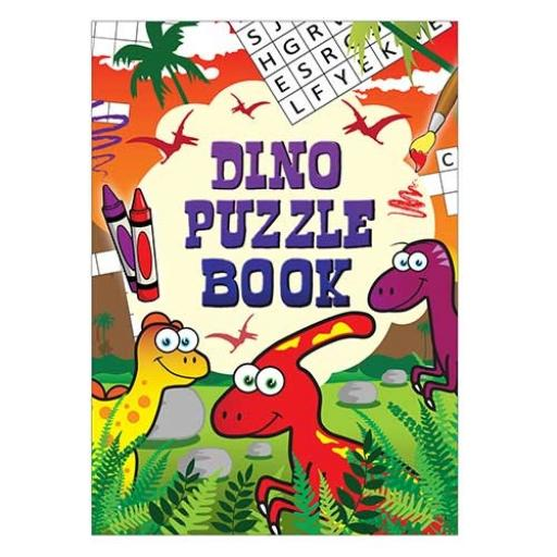 Dinosaur Puzzle Fun Book - 16pp - Pack of 48