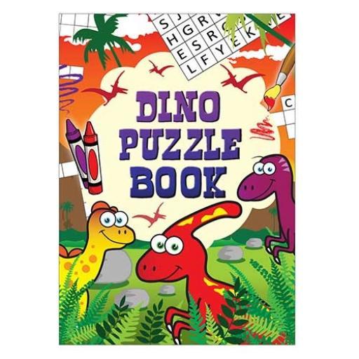 Dinosaur Puzzle Fun Book - 16pp - Pack of 48