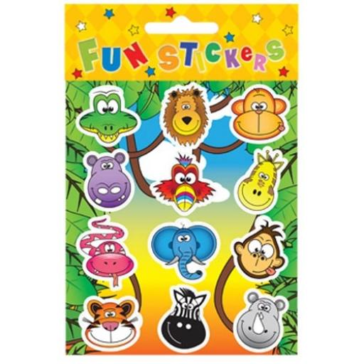 Jungle Stickers - Pack of 120