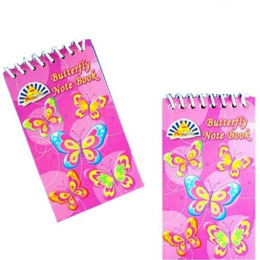 Butterfly Notepad - Pack of 120