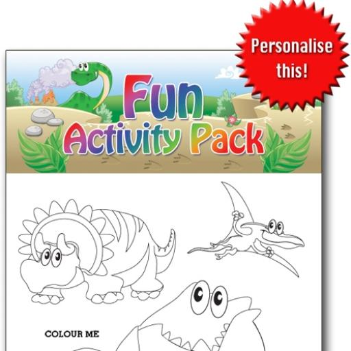DINOSAUR FUN ACTIVITY Pack - Pack of 100 - MP2692