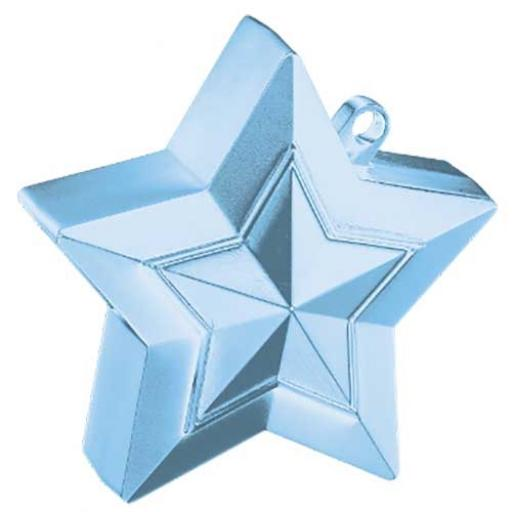 Star Balloon Weight Pearl Light Blue
