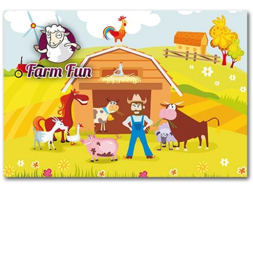 FARM FUN WALLET - Pack of 500 - MP3442