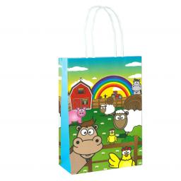 Farm Paper Party Bag - Pack of 48