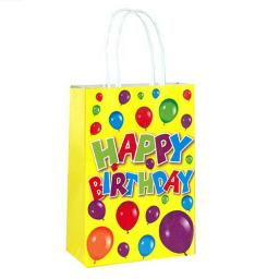 Happy Birthday Paper Party Bag - Pack of 48