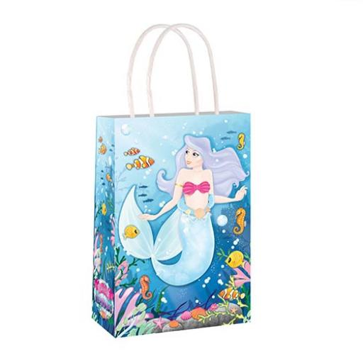 Mermaid Paper Party Bag - Pack of 48