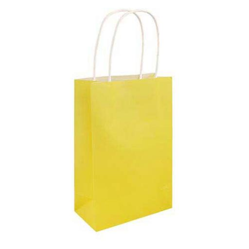Yellow Paper Party Bag - Pack of 48