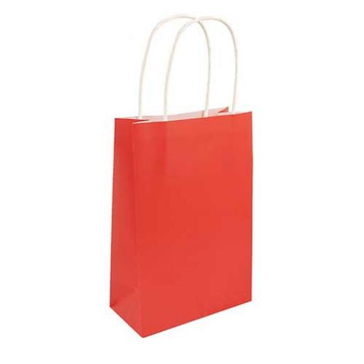 Red Paper Party Bag - Pack of 48
