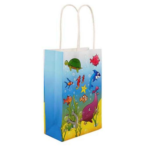 Sealife Paper Party Bag - Pack of 48