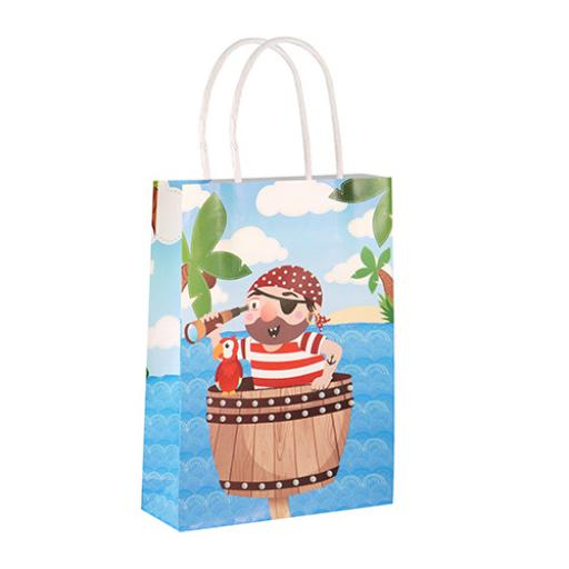 Pirate Paper Party Bag - Pack of 48