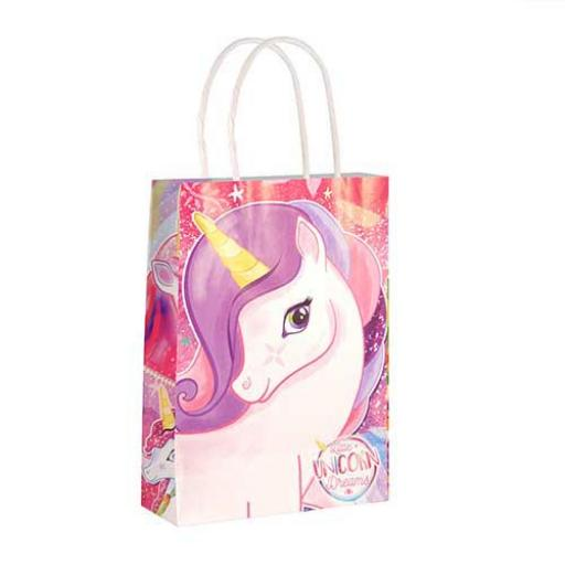 Unicorn Paper Party Bag - Pack of 48