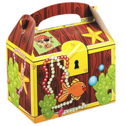 Treasure Chest Party Box - Pack of 50