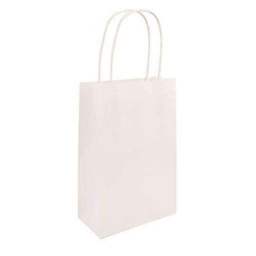 White Paper Party Bag - Pack of 48