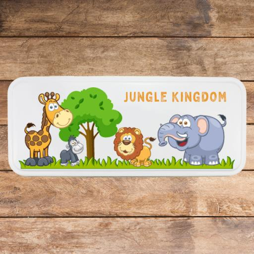 White Pencil Tin - Jungle (16 tins)