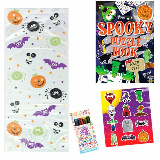 Halloween Party Bag 6 - Box of 100