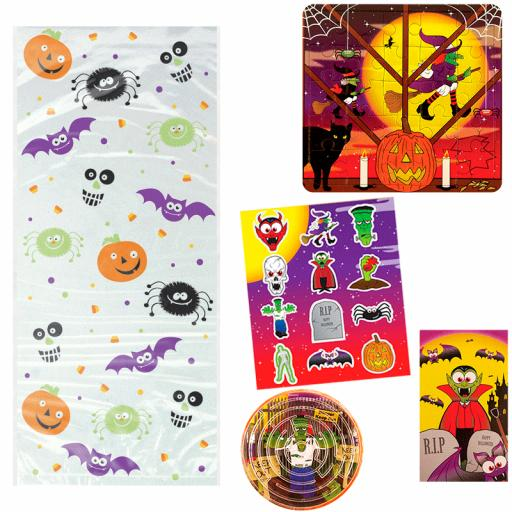 Halloween Party Bag 4 - Box of 100