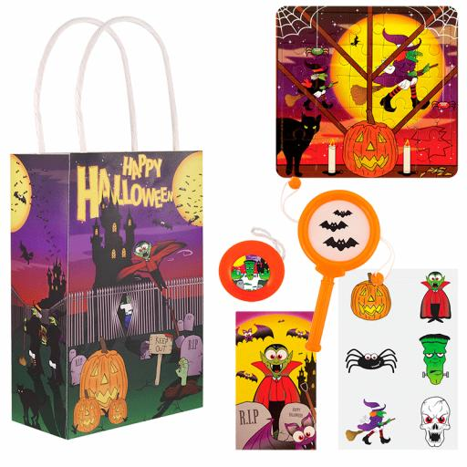 Halloween Party Bag 1 - Box of 100