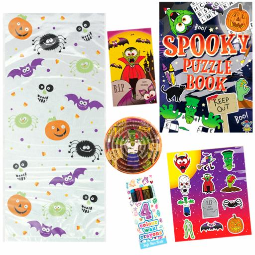Halloween Party Bag 9 - Box of 100 Pack your own kit