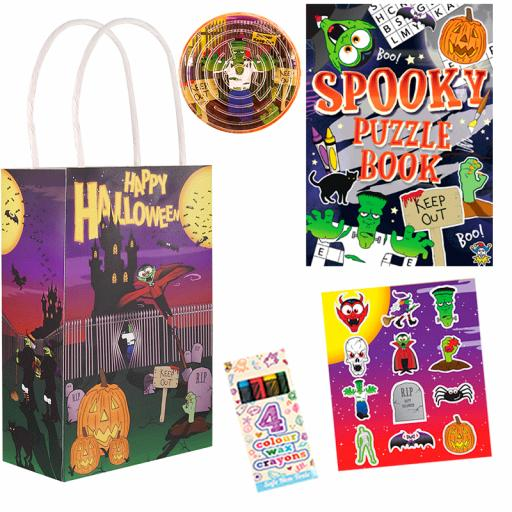 Halloween Party Bag 7 - Box of 100