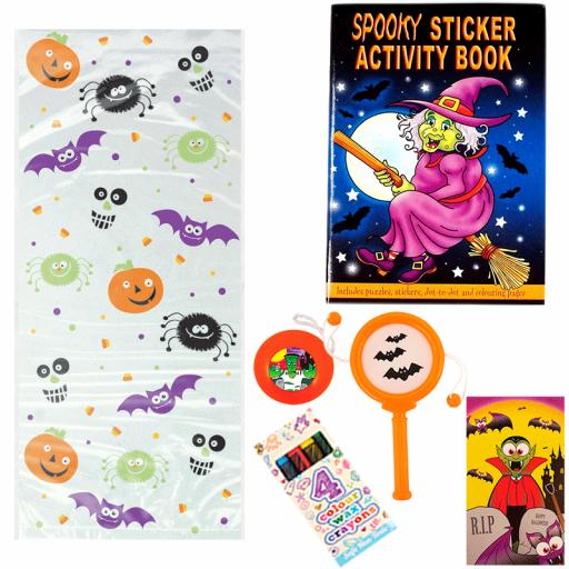 Halloween Party Bag 3 - Box of 100